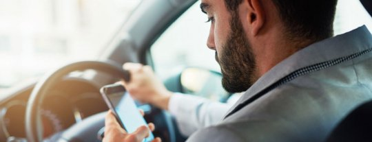 New law changes for the use of mobile phones in vehicles