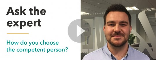 How to choose a competent person for Health & Safety
