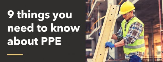 9 things you need to know about PPE