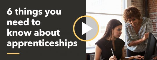6 things you need to know about apprenticeships