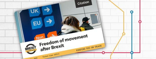 How is freedom of movement going to change after Brexit?